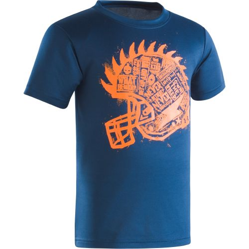 Under Armour Boys' Football Helmet T-shirt