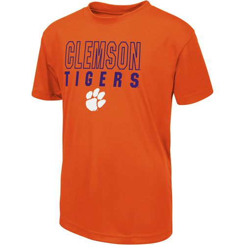 Colosseum Athletics Boys' Clemson University Team Mascot T-shirt