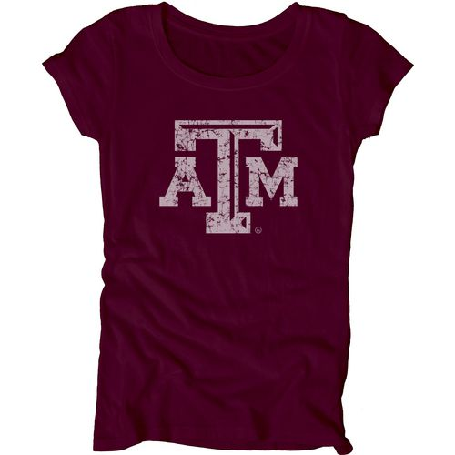 Blue 84 Juniors' Texas A&M University Mascot Soft T-shirt