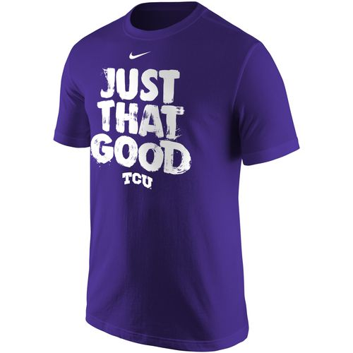Nike Men's Texas Christian University Just That Good T-shirt