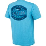 Salt Life Men's Life In The Cast Lane SLX Performance Short Sleeve T-shirt - view number 2