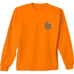New World Graphics Women's University of Tennessee Faux Pocket Long Sleeve T-shirt - view number 2