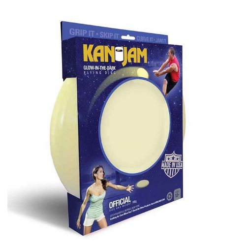 KanJam Glow-in-the-Dark Flying Disc