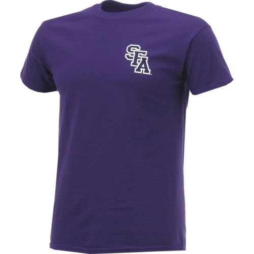 New World Graphics Men's Stephen F. Austin State University Stripe Nation T-shirt - view number 3