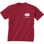 New World Graphics Women's Midwestern State University Terrain State T-shirt - view number 2