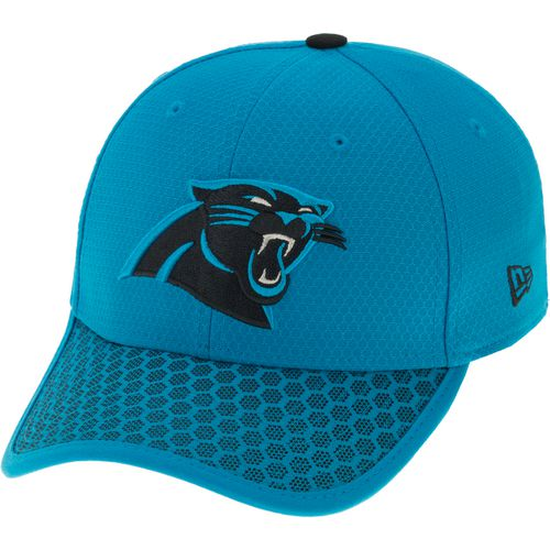New Era Men's Carolina Panthers Onfield Sideline Team 2-Tone 39THIRTY Cap - view number 2