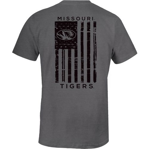 Image One Men's University of Missouri Distressed Flag T-shirt