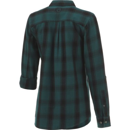 Magellan Outdoors Women's Fish Gear Cordova Pass Flannel Fishing Shirt - view number 2