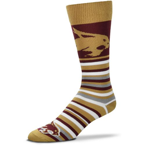 For Bare Feet Texas State University Lotta Stripe Dress Socks