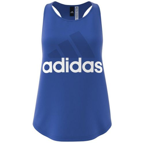 Display product reviews for adidas Women's Essentials Linear Logo Loose Tank Top
