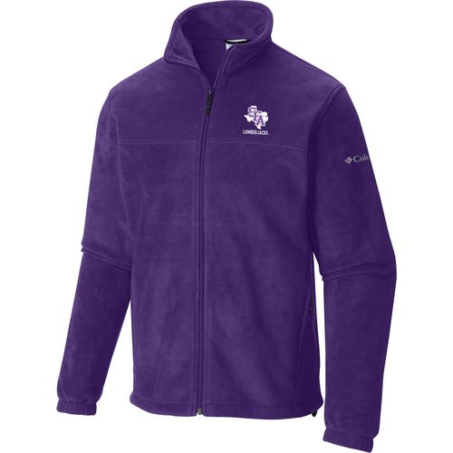 Columbia Sportswear Men's Stephen F. Austin State University Flanker Full Zip Fleece