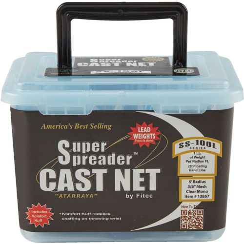 Fitec Super Spreader 5 ft Cast Net