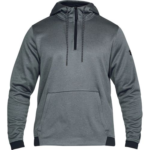 Under Armour Men's Armour Fleece Icon 1/4 Zip Pullover Hoodie - view number 1