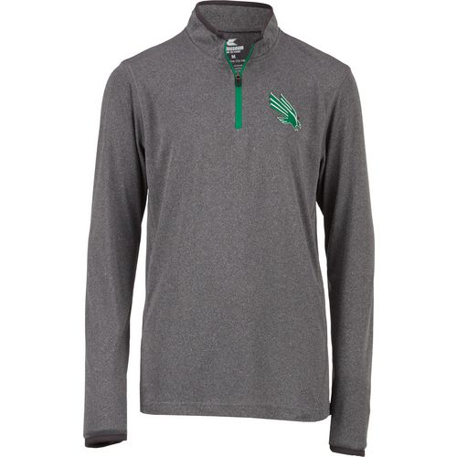 Colosseum Athletics Youth University of North Texas Action Pass 1/4 Zip Wind Shirt