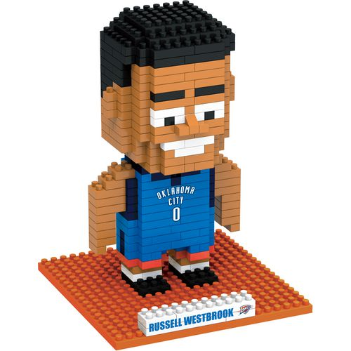 Forever Collectibles Oklahoma City Thunder Russell Westbrook BRXLZ 3-D Player Puzzle