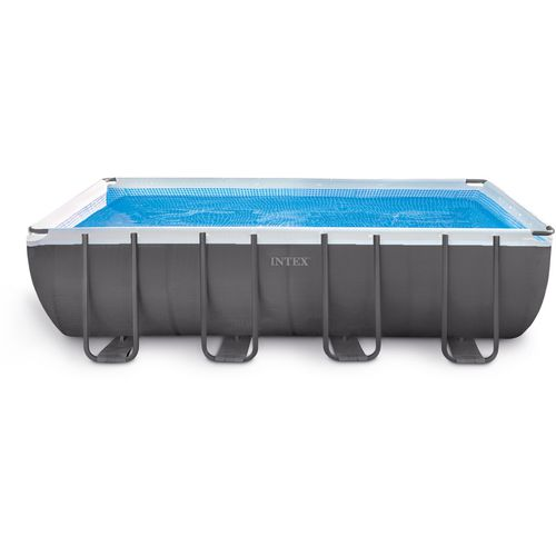 INTEX 9 ft x 18 ft x 52 in Rectangular Ultra Frame Pool Set