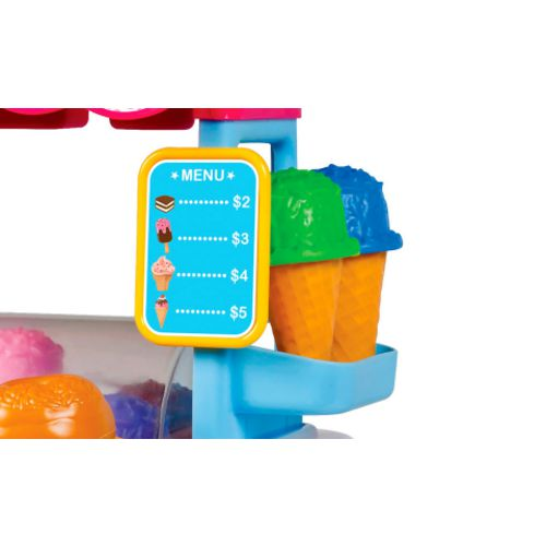 World Tech Toys 14-Piece Ice Cream Cart Playset - view number 4
