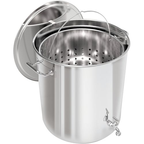 Breauxs 80 qt Stainless-Steel Pot - view number 1