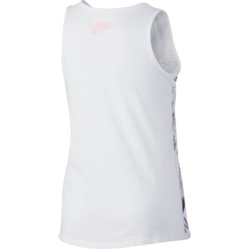 Nike Girls' Sportswear Fresh Prints Tank Top - view number 2