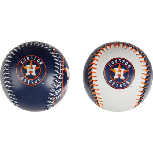 Rawlings Houston Astros Double Play Soft-Core Baseballs 2-Pack