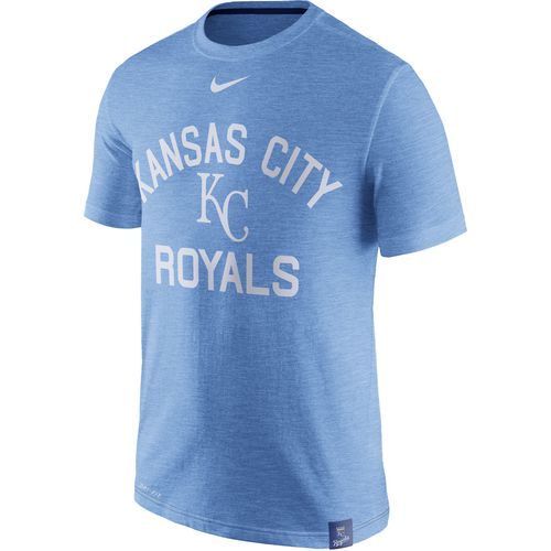 Nike Men's Kansas City Royals Dri-FIT Slub Arch Logo T-shirt