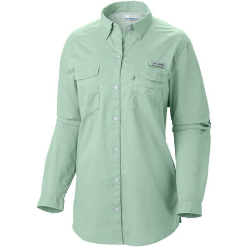 Columbia Sportswear Women's PFG Bonehead II Long Sleeve Plus Size Shirt