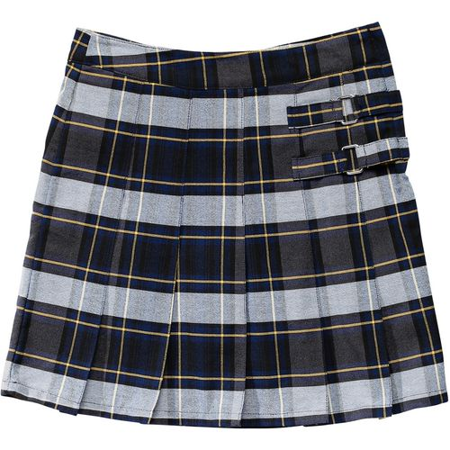 French Toast Girls' Plaid 2-Tab Uniform Scooter
