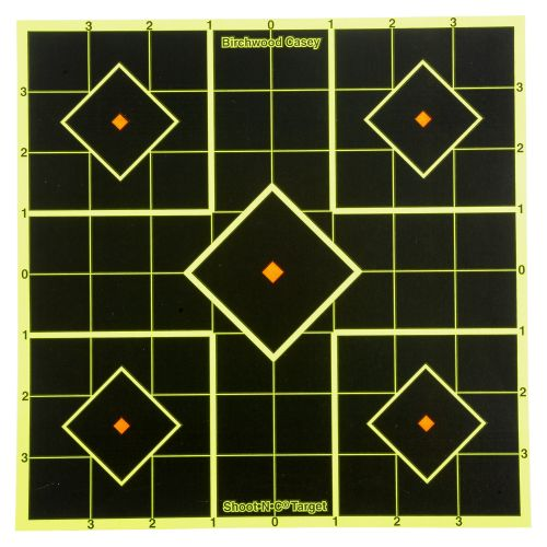 Birchwood Casey® Shoot-N-C® 8' Self-Adhesive Sight-In Targets 6-Pack