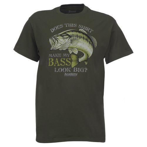 Academy Sports + Outdoors™ Men's Make My Bass Look Big T-shirt
