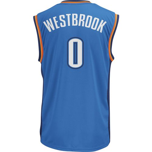 adidas Men's Oklahoma City Thunder Russell Westbrook No. 0 Revolution 30 Replica Jersey - view number 2