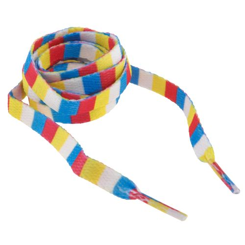Image for Sof Sole® Bright Stripe Novelty Shoelaces from Academy