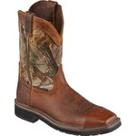 Justin Men's Stampede® Steel-Toe Work Boots - view number 2
