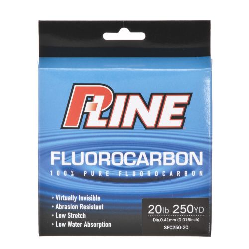 P-Line 20 lb. - 250 yards Fluorocarbon Fishing Line