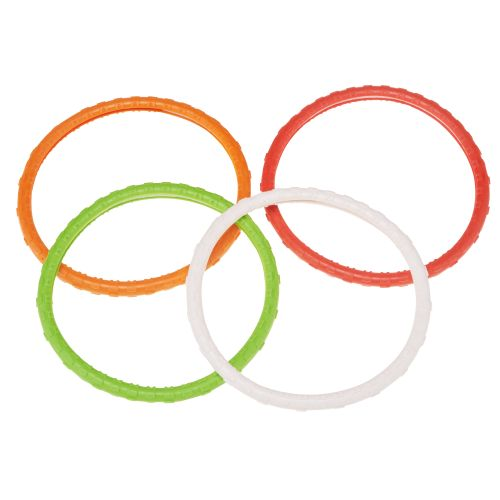 Prime Time Toys Dive 'N Grab Dizzy Dive Rings 5-Pack