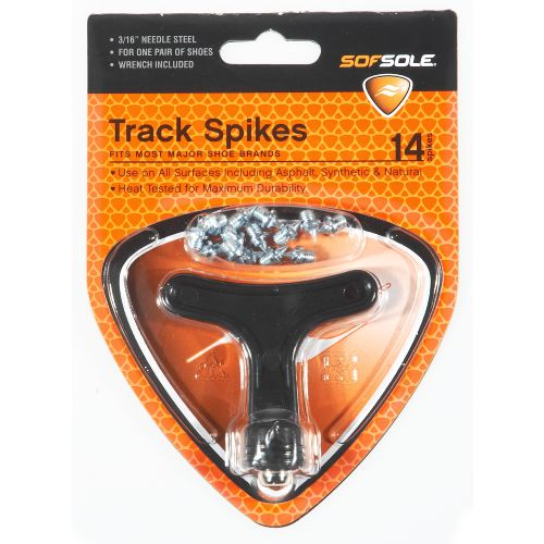 Sof Sole® 3/16' Steel Needle Track Spikes