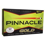 Pinnacle Gold High Optix Yellow Golf Balls 15-Pack
