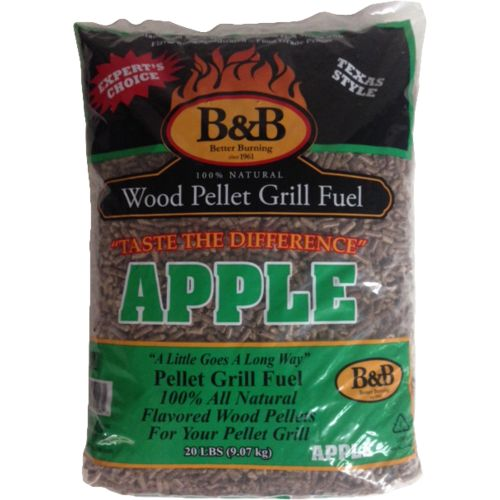 Display product reviews for B&B Apple 20 lb. Pellet Grill Fuel