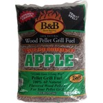 B&B Apple 20 lb. Pellet Grill Fuel