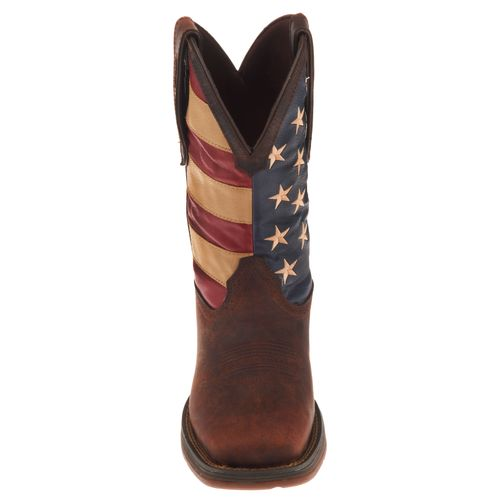 Durango Men's Rebel American Flag Western Boots - view number 3