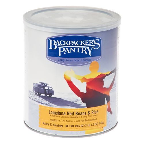 Backpacker's Pantry Louisiana Red Beans and Rice Can