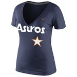 Nike Women's Houston Astros Deep V T-shirt