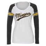 Colosseum Athletics Women's University of Missouri Sycamore Raglan T-shirt