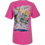 Guy Harvey Men's Island Marlin Neon T-shirt
