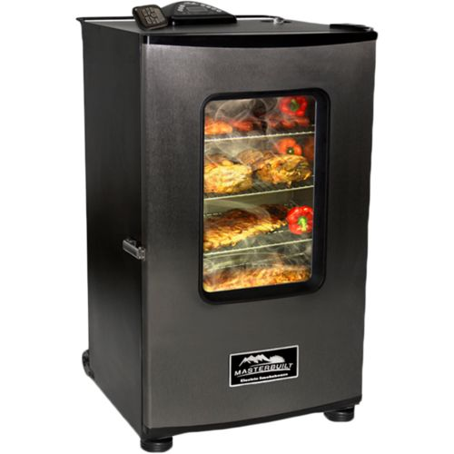 """Display product reviews for Masterbuilt 30"""" Stainless-Steel Digital Electric Smokehouse"""