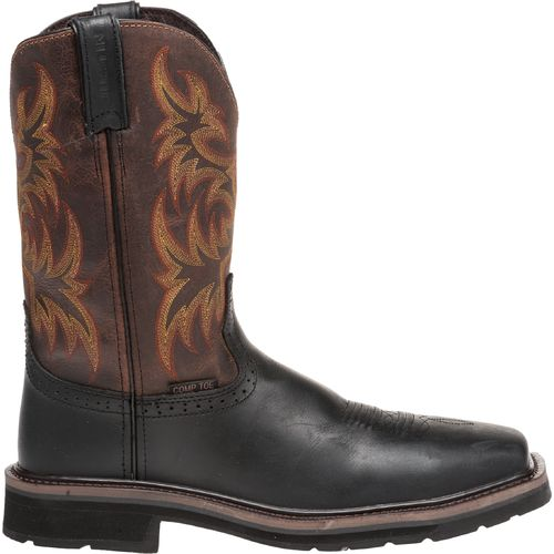display product reviews for justin menu0027s oiled composition toe western work boots