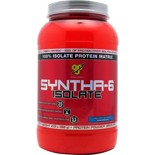 Display product reviews for BSN Sports Syntha-6 Isolate Protein Powder