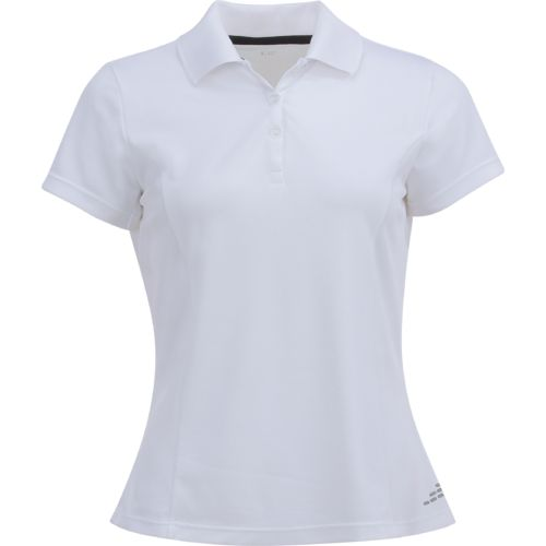 BCG Women's Short Sleeve Tennis Polo Shirt