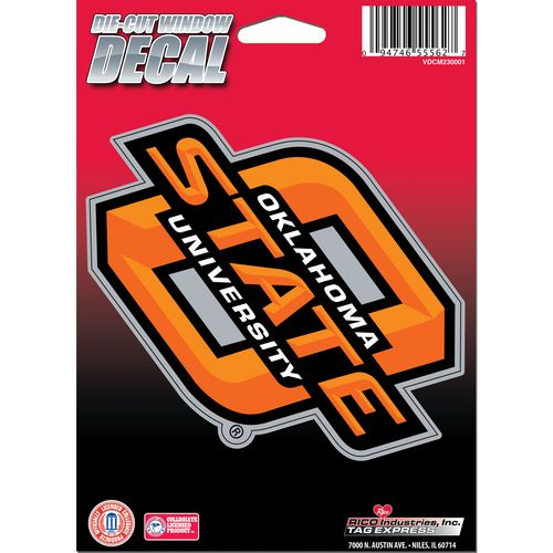 Tag Express Oklahoma State University Die-Cut Decal