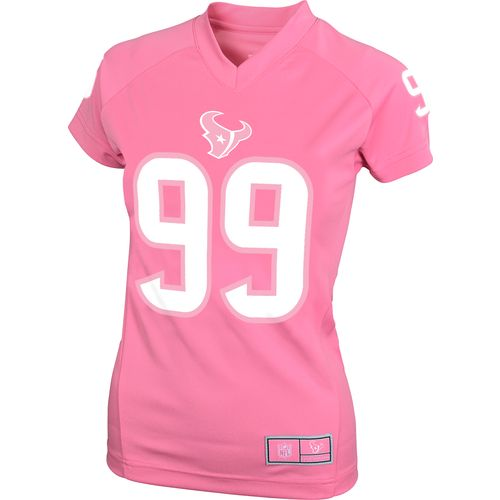 NFL Girls' Houston Texans J.J. Watt #99 V-neck T-shirt