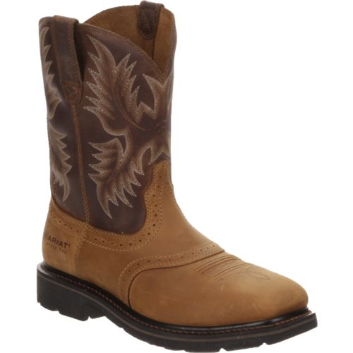 Ariat Men's Sierra Wide Square Toe Western Wellington Work Boots - view number 2